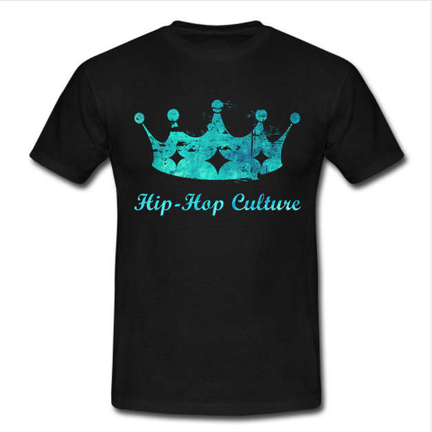Hip Hop Culture Crown Unisex Men Women Kid Size T Shirt Gildan Quality TShirt